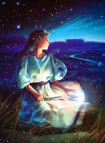西方神话传说中的处女座泊瑟芬