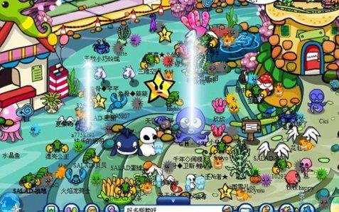 无限角色《海底世界》未来互联网娱乐产品起步点