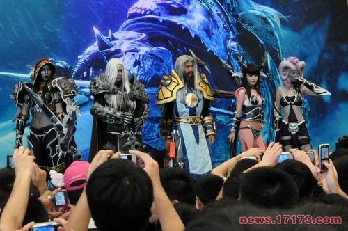 巫妖王降临 cj现场《魔兽世界》cosplay