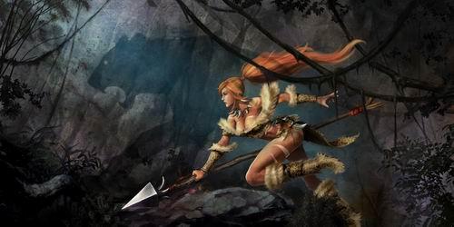 金色皮肤的骑士,豹纹诱惑的兽女,还有化身为小红帽的萝莉安妮,球员图片